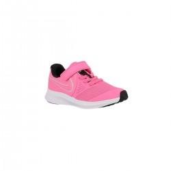 Nike Zapatilla Star Runner 2 PSV Pink Glow Photon Dust Rosa Fucsia Niño