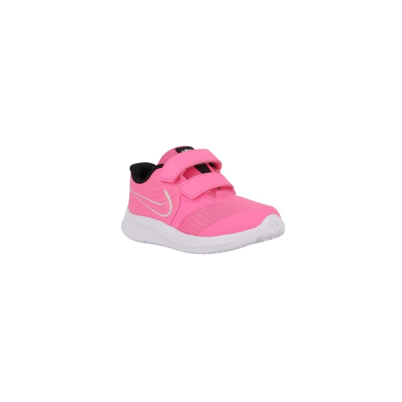 Nike Zapatilla Star Runner 2 TDV Pink Glow Photon Dust Rosa Fucsia Niño