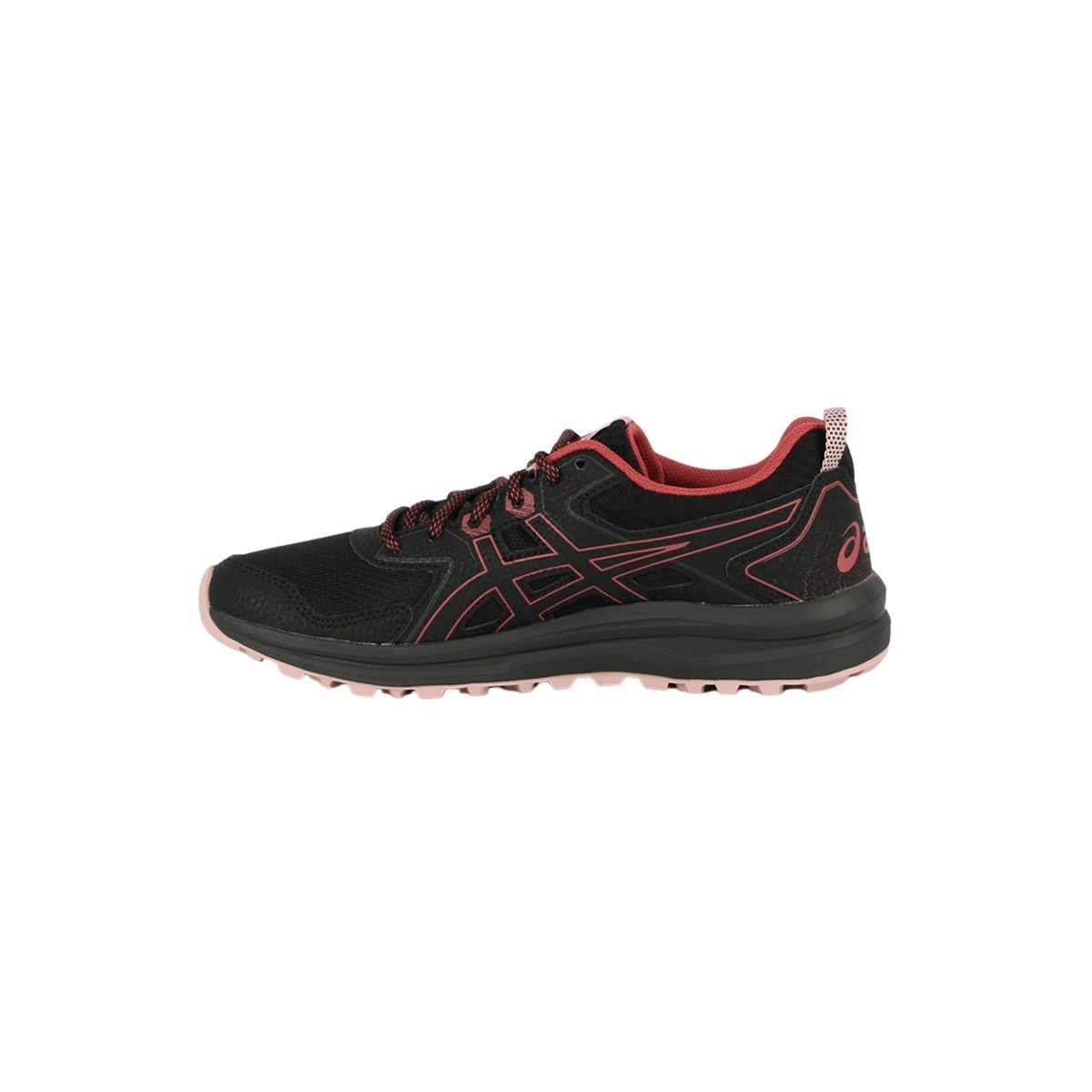 Asics Zapatilla Trail Scout Black Dried Rose Negro Rosa Mujer
