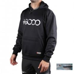+8000 Sudadera Almaden 20I Negra Hombre