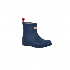 Hunter Bota Corta Original Play Peak Blue Azul Mujer