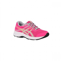 Asics Zapatilla Gel Contend 6 GS Pink Glow Rosa Fucsia Gris Niño