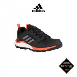 Adidas Zapatilla Terrex Agravic TR Gore-Tex Core Black Solar Red Negro Rojo Hombre