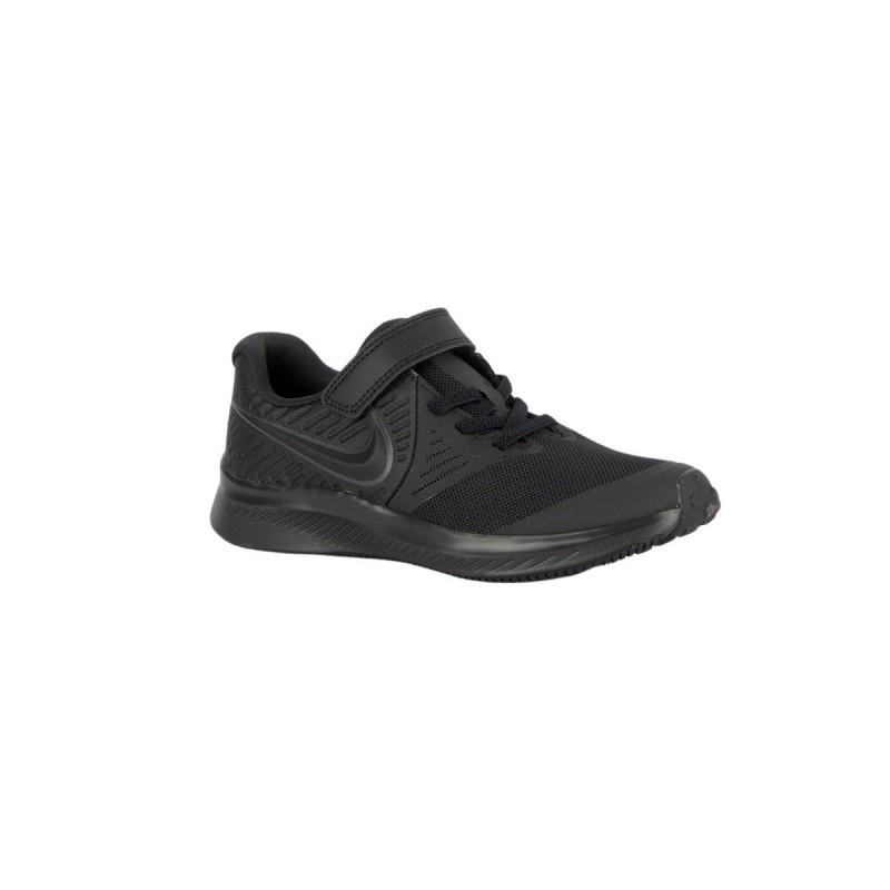 Nike Zapatilla Star Runner 2 PSV Black Negro Niño