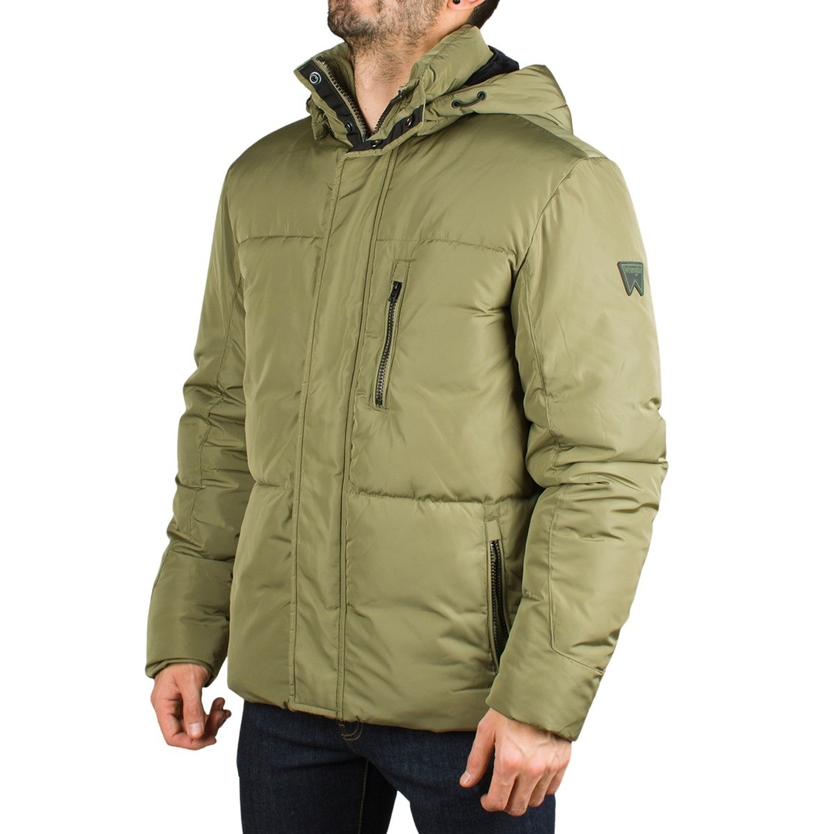 Wrangler Chaqueta Protector Dusty Olive Verde Hombre
