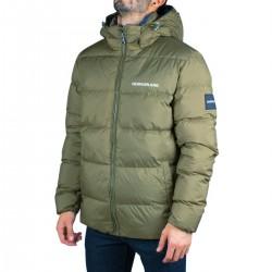 Calvin Klein Chaqueta Down Hooded Puffer Jacket Verde Kaki Azul Hombre