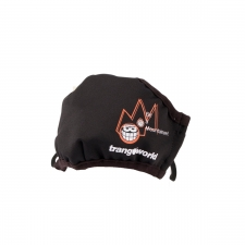 Trangoworld Mascarilla Soham Black Negra Junior