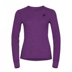 Odlo Camiseta Interior Active Warm ECO Charisma Morado Mujer