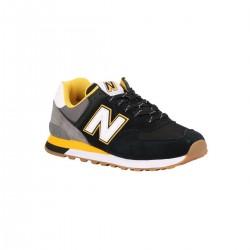New Balance Zapatilla ML574 SKA Negro Naranja Hombre