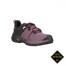 Salomon Zapatilla Odyssey gtx w Black Flint High Risk Red Negro Morado Mujer
