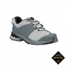 Salomon Zapatilla XA WILD GTX Quarry Stormy Weather Black Gris azulado Hombre