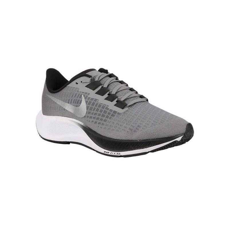 Nike Zapatilla Air Zoom Pegasus 37 Particle Grey Metallic Silver Gris Hombre