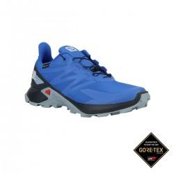 Salomon Zapatilla SUPERCROSS BLAST GTX Indigo Navy Blue Azul Hombre