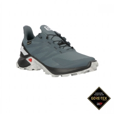 Salomon Zapatilla Supercross Blast GTX Stormy Weather Black Azul Hombre