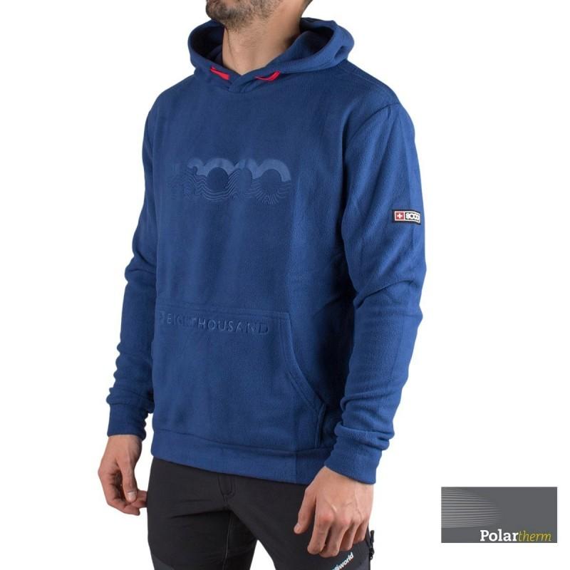 +8000 Sudadera Polar Febri 20I Azul Oscuro Hombre
