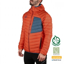 Ternua Plumas Vilman Hood Down JKT Orange Red Naranja Hombre