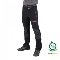 Ternua Pantalón Krebur Black Negro Cordura Hombre