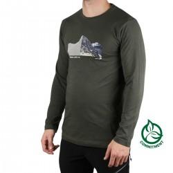 Ternua Camiseta Sekkum Deep Forest Verde Hombre