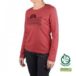 Ternua Camiseta FULA 3486 Rosa Mujer