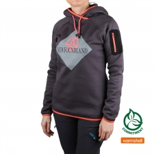 Ternua Sudadera MERANT D-Whales Grey Gris Mujer