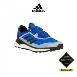 Adidas Zapatilla Terrex Agravic Flow GTX Core Black Signal Green Azul Lima Hombre