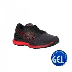 Asics Zapatilla Gel Nimbus black classic red negro rojo Hombre