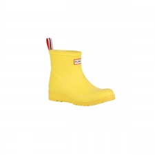 Hunter Bota Corta Original Play Wader Yellow Amarillo Mujer