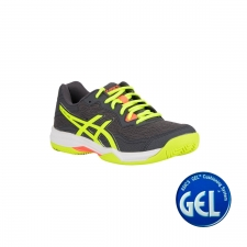 Asics Zapatilla Gel Padel Pro 4 Carrier Grey Safety Yellow Gris Amarillo Fluor Hombre