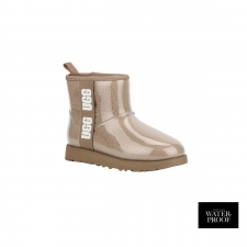 UGG Bota W Classic Clear Mini Natural Chestnut Marrón Mujer