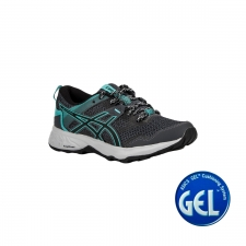 Asics Zapatilla GEL-SONOMA 5 Carrier Grey Black Gris Turquesa Mujer