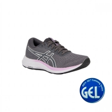 Asics Zapatilla GEL-EXCITE 7 Carrier Grey White Gris Lila Blanco Mujer