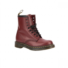 Dr. Martens Bota 8-EYE SMOOTH Cherry Red Vino Mujer