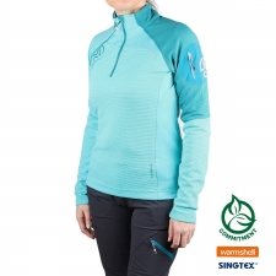 Ternua Camiseta LEMIKA Blue Curacao Turquesa Mujer