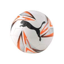 Puma Balón fútbol ftbPLAY Big Cat White Shoking Orange Silver Blanco Naranja