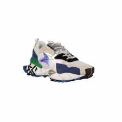 Exe Zapatilla 19V03-1 Sneaker Beige Black Mujer