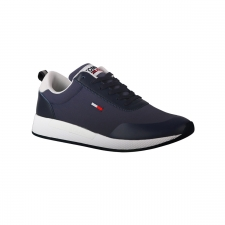 Tommy Hilfiger Zapatilla Flexi Mix Runner Sneaker Twilight Navy Azul Hombre