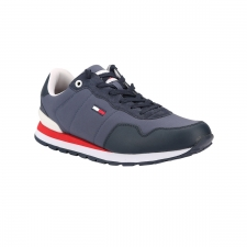 Tommy Hilfiger Zapatilla Lifestyle Mix Runner Twilight Navy Azul Hombre