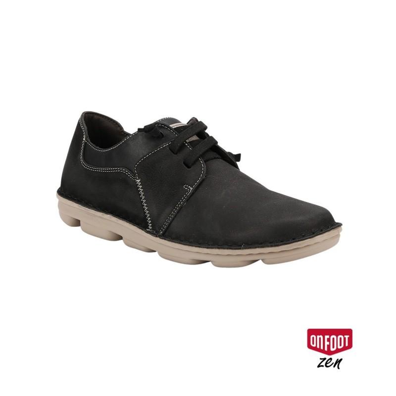On Foot Zapato BLUCHER ELASTICOS Negro Hombre