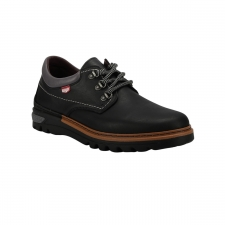 On Foot Zapato BLUCHER ANILLAS Negro Hombre