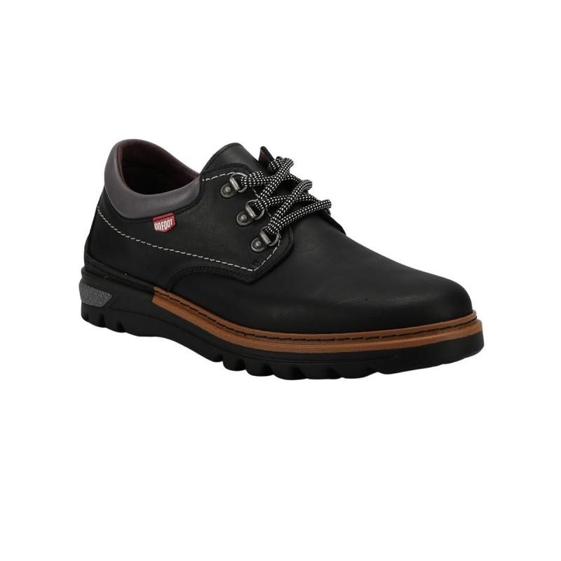 On Foot Zapato BLUCHER ANILLAS Negro Hombre