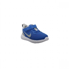 Nike Zapatilla Revolution 5 TDV Game Royal Azul Gris Niño