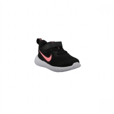 Nike Zapatilla Revolution 5 TDV Black Sunset Pulse Negro Rosa Niño