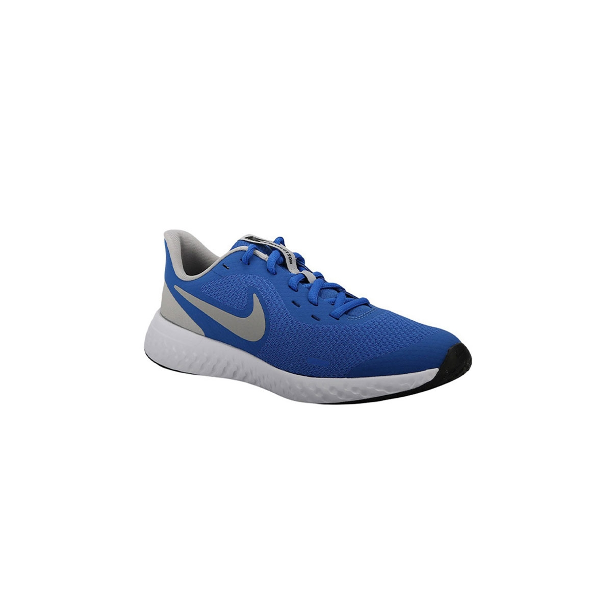 Nike Zapatilla Revolution 5 Game Royal Azul Gris Niño