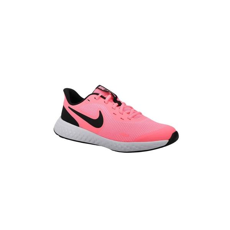 Nike Zapatilla Revolution 5 Sunset Pulse Rosa Negro Niño
