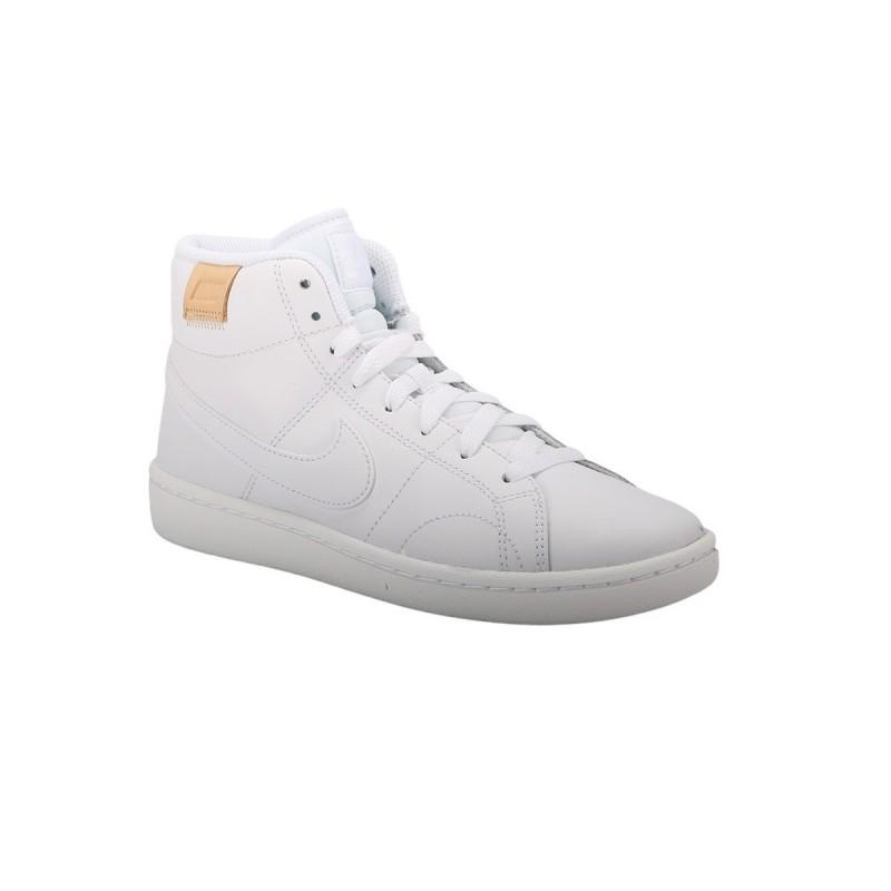 Nike Zapatilla Court Royale 2 Mid White Blanco Mujer