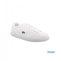 Lacoste Zapatilla GRADUATE CAP 0120 SFA WHT/WHT Blanco Mujer
