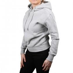 Calvin Klein Sudadera Embroidery con logo bordado Gris Mujer