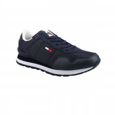 Tommy Hilfiger Zapatilla LIFESTYLE MIX RUNNER C87 Azul Marino Hombre