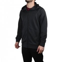 Hurley Sudadera cremallera Nike DRI-FIT DISPERSE Full Zip Negro Jaspeado Hombre