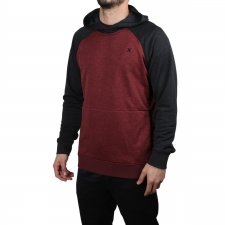 Hurley Jersey Sudadera DRI-FIT DISPERSE Gym Red Rojo Negro Hombre